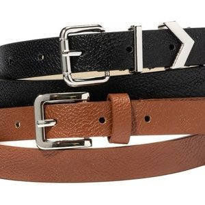 Vince Camuto   Set of 2 belts